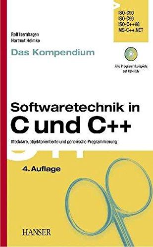 9783446227156: Softwaretechnik in C und C++ - Das Kompendium.