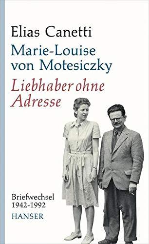 9783446237353: Liebhaber ohne Adresse: Briefwechsel 1942-1992