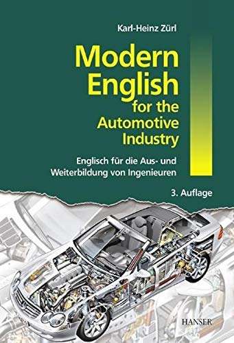 9783446401877: Modern English for the Automotive Industry