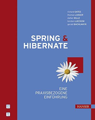 9783446404571: Spring & Hibernate: Eine praxisbezogene Einf�hrung