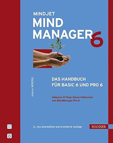 9783446405622: MindManager 6: Das Handbuch für Basic 6 und Pro 6