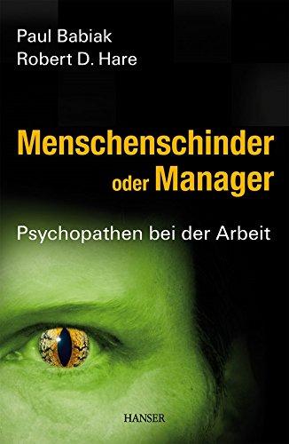 9783446409927: Menschenschinder oder Manager