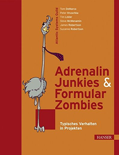 9783446412545: Adrenalin-Junkies & Formular-Zombies