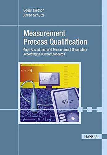 9783446424074: Measurement Process Qualification: Gage Acceptance and Measurement Uncertainty According to Current Standards