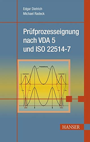 9783446443327: Prüfprozesseignung nach VDA 5 und ISO 22514-7