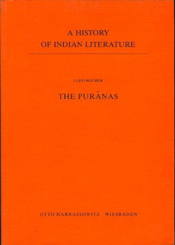 9783447025225: The Puranas (A History of Indian Literature, Vol. 2)