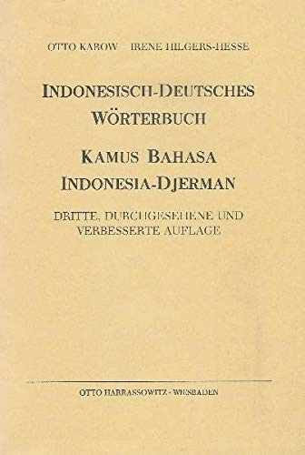 9783447026178: Indonesisch-Deutsches Worterbuch: Kamus Bahasa Indonesia-Djerman