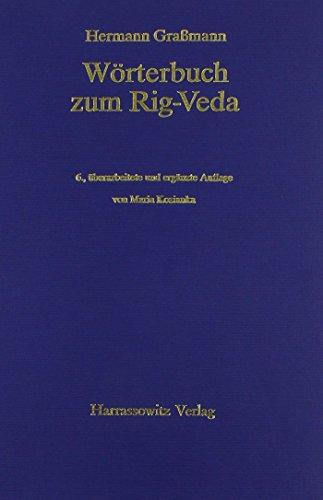 9783447032230: Worterbuch Zum Rig-veda (German Edition)