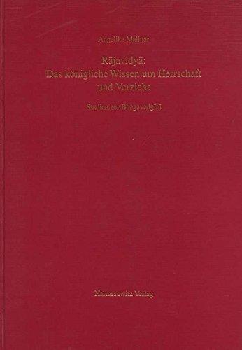9783447038508: Rajavidya: Das königliche Wissen um Herrschaft und Verzicht: Studien zur Bhagavadgita (Livre en allemand)