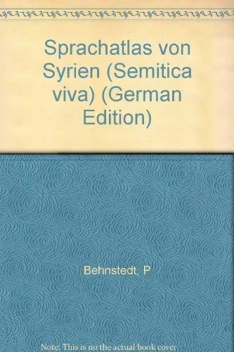 Sprachatlas von Syrien. Kartenband, Beiheft: Peter Behnstedt