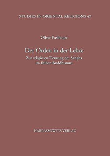 Der Orden in der Lehre: Oliver Freiberger