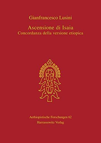 Ascensione di Isaia: Gianfrancesco Lusini