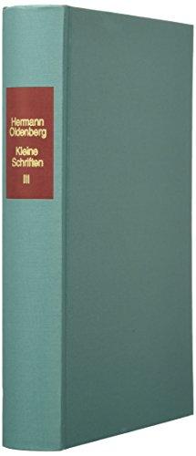 9783447048798: Kleine Schriften (Veroffentlichungen Der Glasenapp-stiftung)