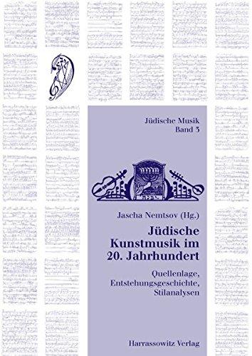 Jüdische Kunstmusik im 20. Jahrhundert: Jascha Nemtsov