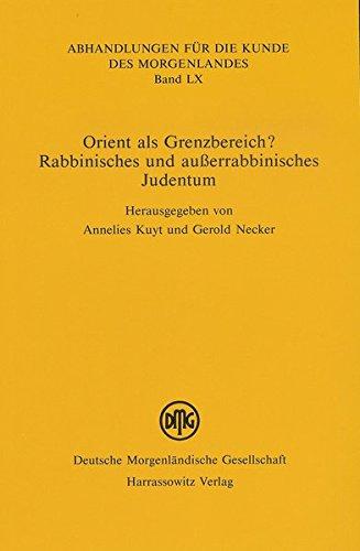 Orient als Grenzbereich?: Annelies Kuyt