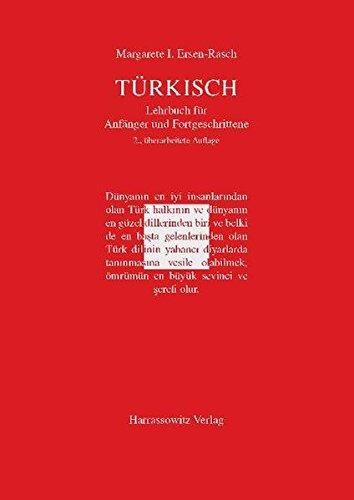 9783447057646: Türkisch - Lehrbuch für Anfänger und Fortgeschrittene: Mit zwei Audio-CDs zu sämtlichen Lektionen sowie mit alphabetischem Wörterverzeichnis und Übungsschlüssel im PDF-Format