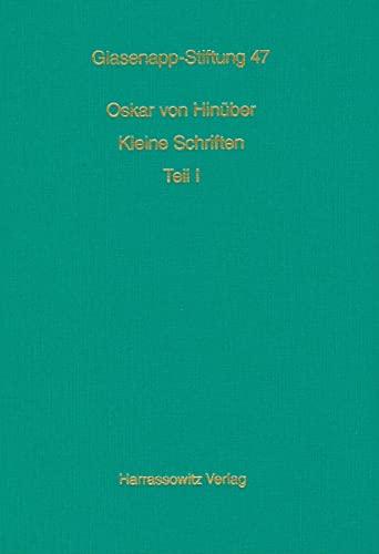 9783447058506: Kleine Schriften (Veroffentlichungen der Glasenapp-Stiftung)