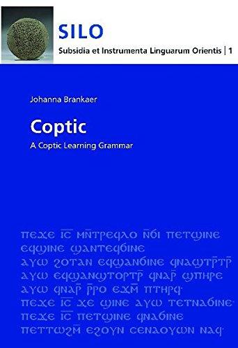 9783447058940: Coptic: A Learning Grammar (Sahidic)