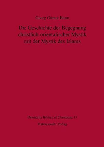 9783447058988: Die Geschichte der Begegnung christlich-orientalischer Mystik mit der Mystik des Islams (ORIENTALIA BIBLICA ET CHRISTIANA)