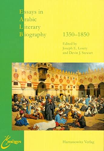 9783447059336: Essays in Arabic Literary Biography II: 1350-1850