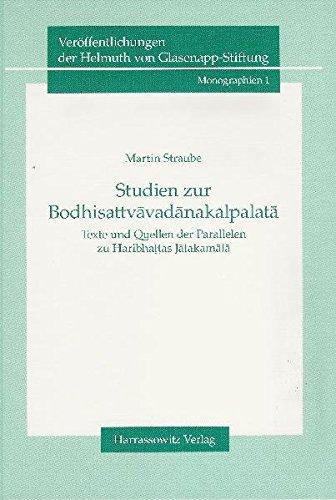 Studien zur Bodhisattvavadanakalpalata: Martin Straube