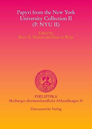 9783447060936: Papyri from the New York University Collection II P.nyu II: 31