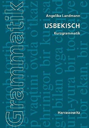 Usbekisch: Kurzgrammatik