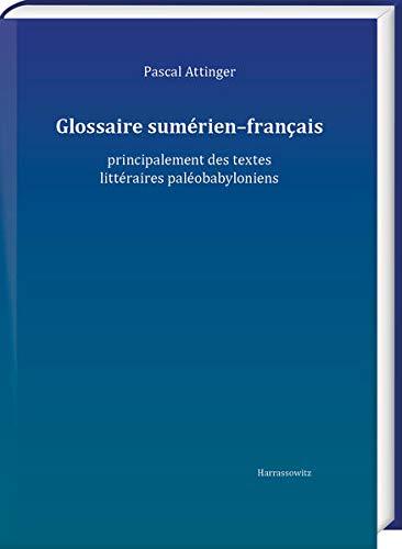 9783447116169: Glossaire sumérien-français