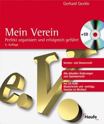 Mein Verein, m. CD-ROM - Geckle, Gerhard