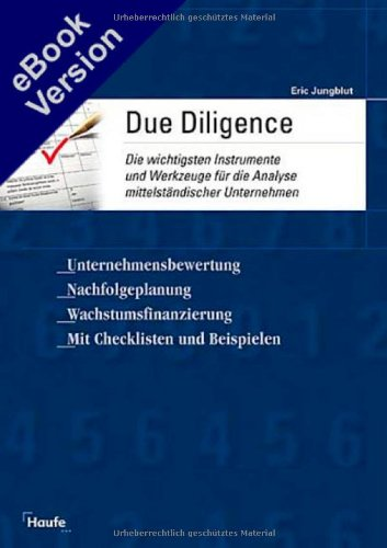 9783448055337: Due Diligence.