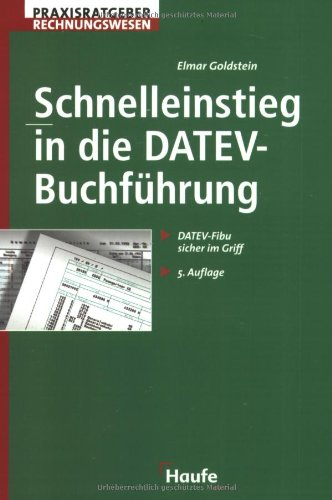 9783448055368: Schnelleinstieg in die DATEV-Buchführung.