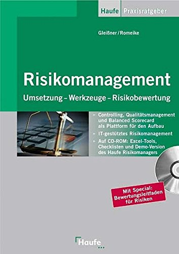 9783448062090: Risikomanagement.Mit CD-ROM