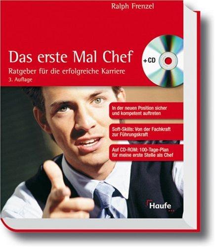 9783448065688: Das erste Mal Chef, m. CD-ROM