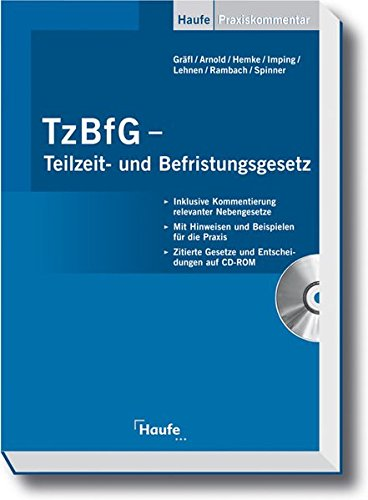 9783448066036: TzBfG - Teilzeit- und Befristungsgesetz