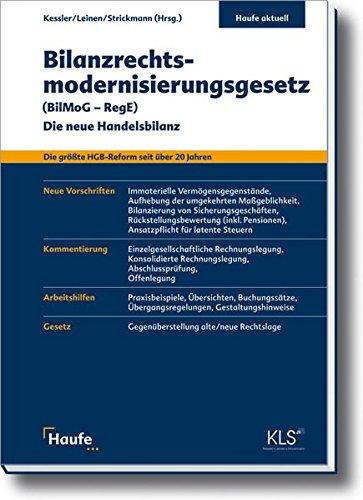 9783448074987: Bilanzrechtsmodernisierungsgesetz (BilMoG - RegE): Die neue Handelsbilanz