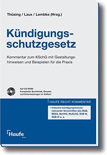 9783448075892 Kündigungsschutzgesetz Kommentar Zum Kschg Mit