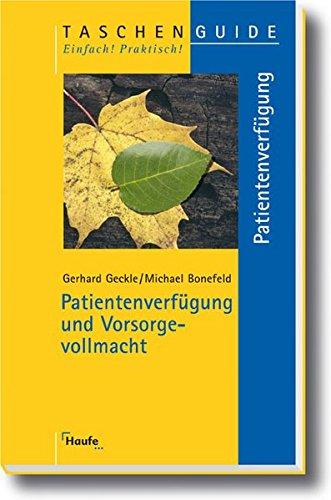 9783448077650: Patientenverfügung und Vorsorgevollmacht