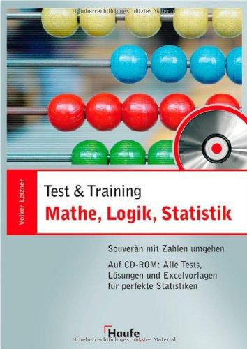 9783448080506: Mathe, Logik, Statistik - mit CD-ROM: Souver�n mit Zahlen umgehen