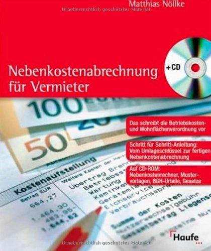 9783448080605: Nebenkostenabrechnung für Vermieter