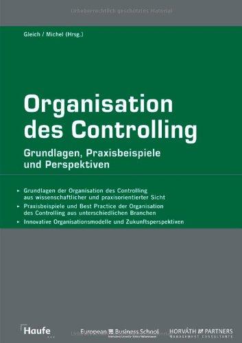 9783448082715: Organisation des Controlling