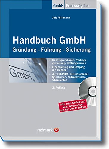 9783448089295: Handbuch GmbH: Gründung - Führung - Sicherung