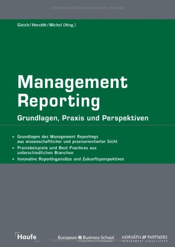 9783448090789: Management Reporting