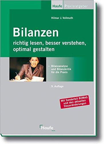 9783448093070: Bilanzen richtig lesen, besser verstehen, optimal gestalten: Bilanzanalyse und Bilanzkritik für die Praxis