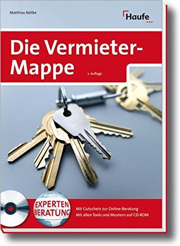 Die Vermietermappe Mit Cd Rom Von Dr Matthias Nöllke