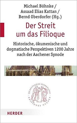 9783451022456: Die Filioque-Kontroverse