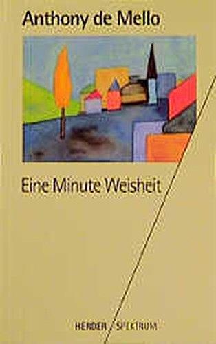 9783451045691: Eine Minute Weisheit