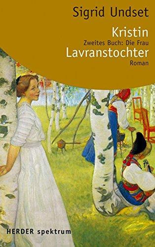 9783451050824: Kristin Lavranstochter 2. Die Frau