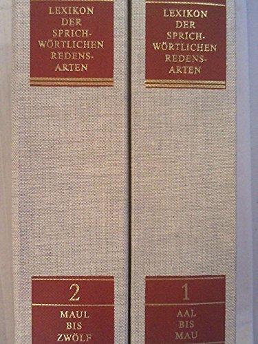 9783451166297: Lexikon der sprichwörtlichen Redensarten (German Edition)