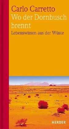9783451166549: Wo der Dornbusch brennt. Geistliche Briefe aus der Wüste