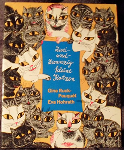 9783451167935: Zweiundzwanzig kleine Katzen. ( Kleeblatt- Bilderbücher.)